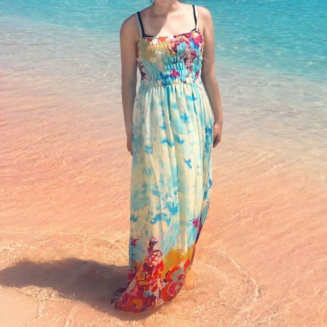 Long Dress Pantai