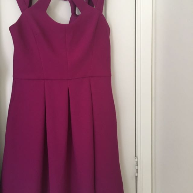 Magenta Size 10 Betsey Johnson Dress New!