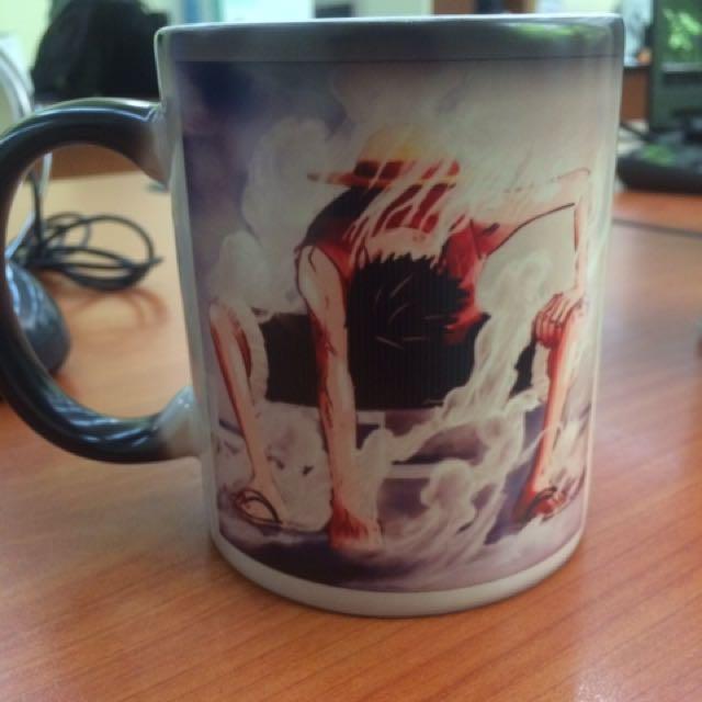 Magic Mug Luffy Gear 2
