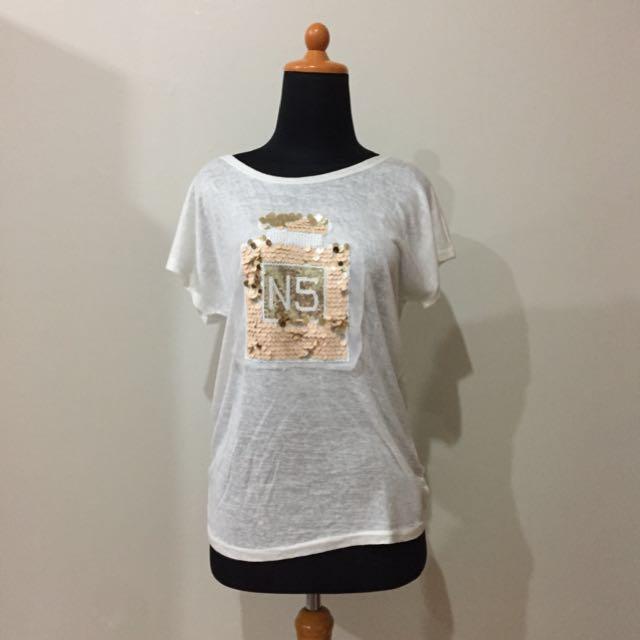 """Magnolia """"Chanel Perfume N5"""" Shirt"""