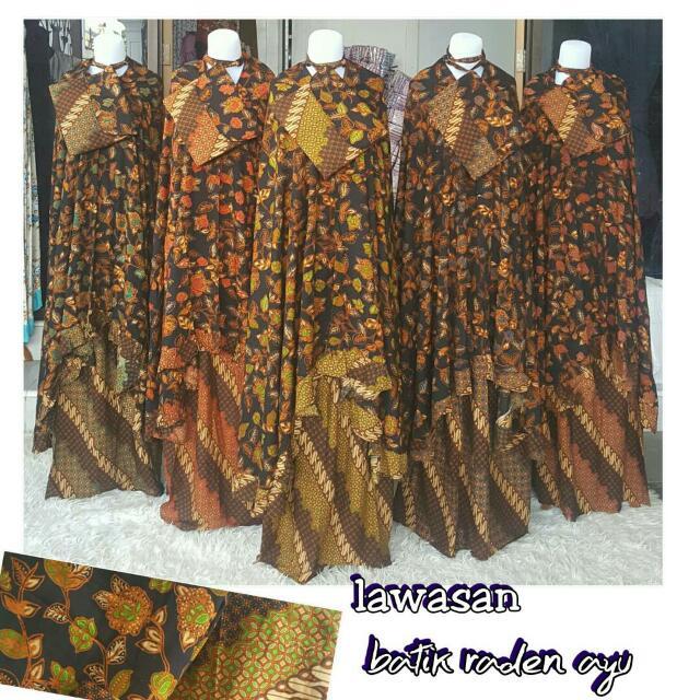 Mukena Batik Raden Ayu