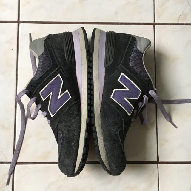 New Balance 574 Purple/Black (9.5)