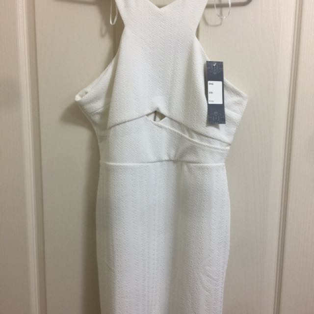 New White Cute Dress