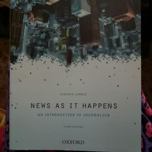 News As It Happens Stephen Lamble 3rd Edition