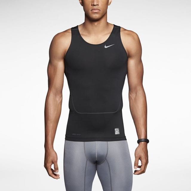 0902f1ace0 Nike Pro Combat Compression Singlet, Sports, Sports Apparel on Carousell