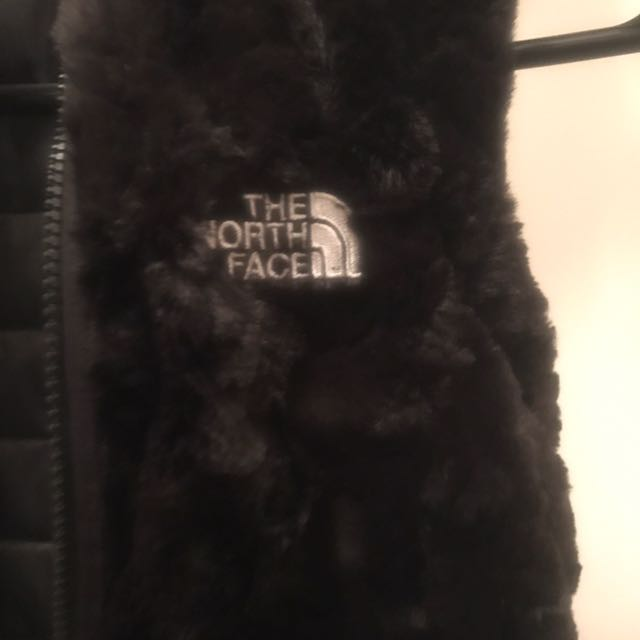 North Face Reversible Fur Vest