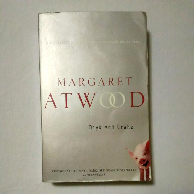 Oryx and Crake - Margaret Atwood (Free SF for Metro Manila)