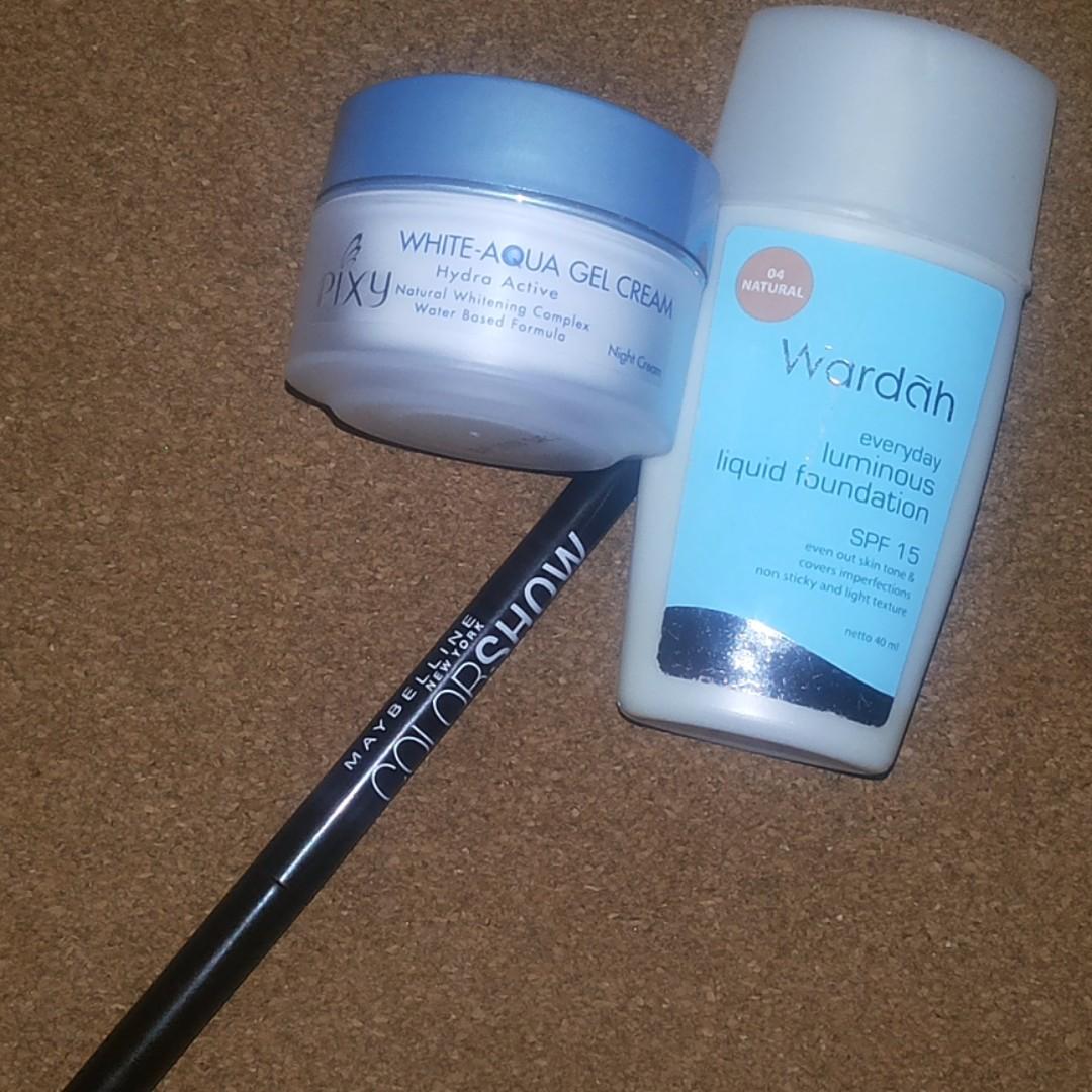 Paket 3 Produk Skin Care/Make Up
