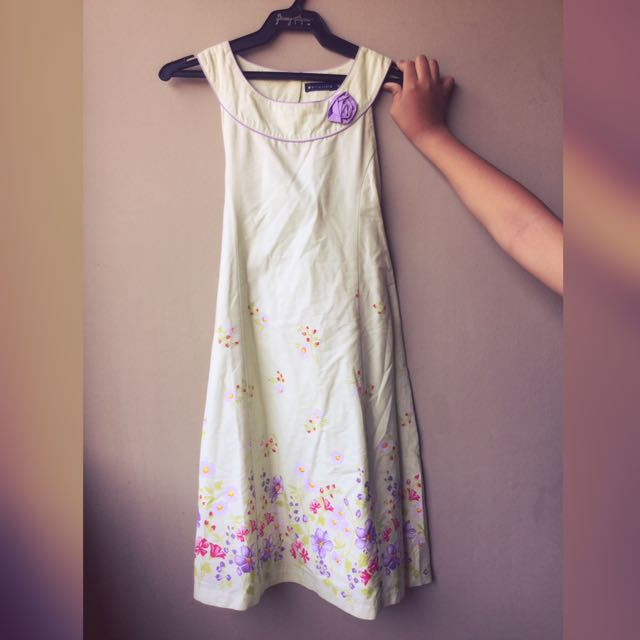 Periwinkle Dress For Girls