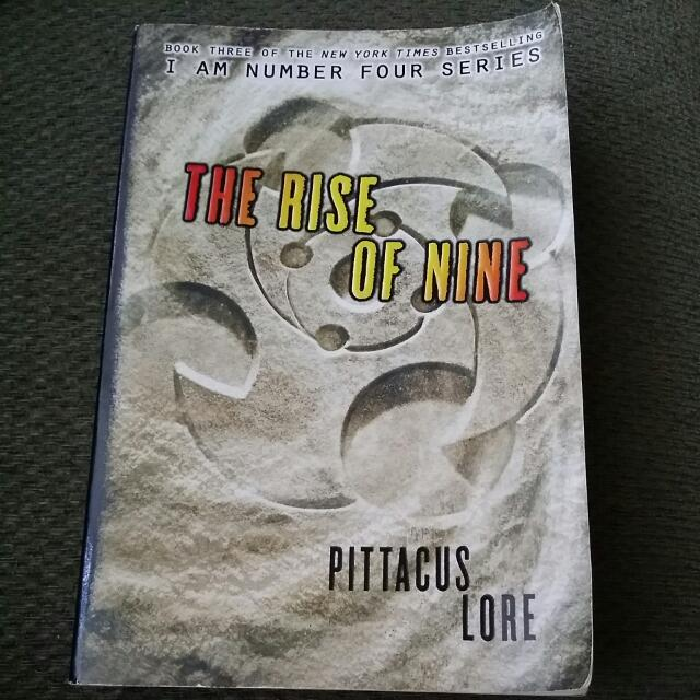 Pittacus Lore-The Rise of Nine