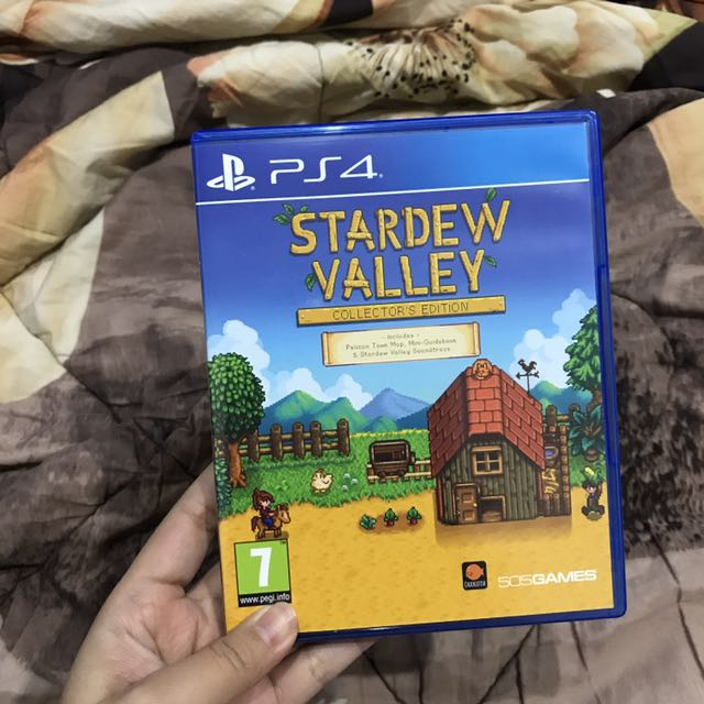 PS4 Stardew Valley Collector's Edition