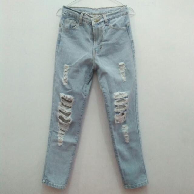 Repped Jeans