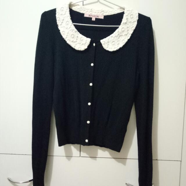 Review Cropped Cardigan
