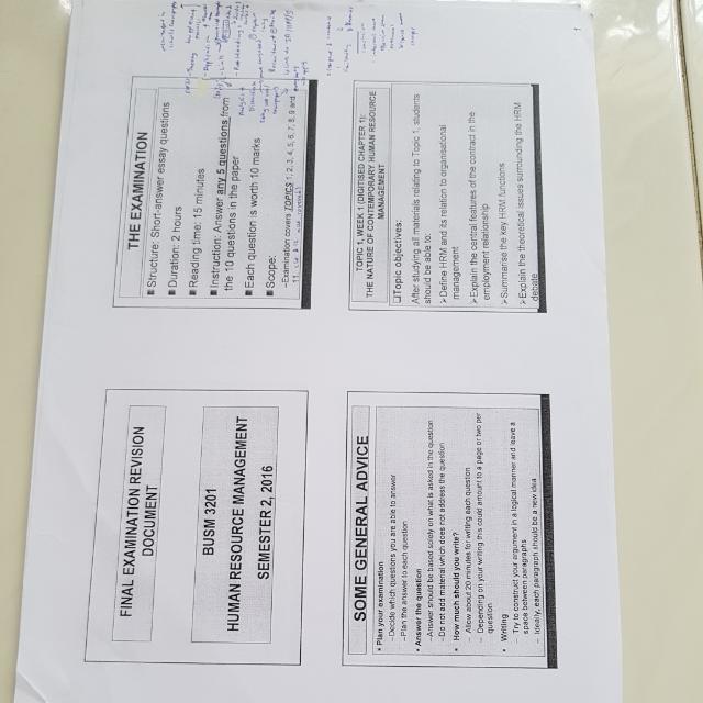 RMIT Human Resource Management, Books & Stationery
