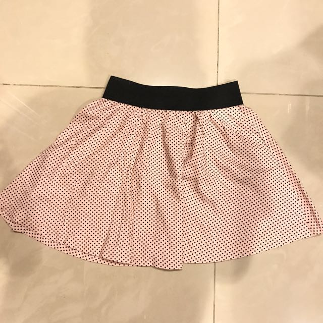 Rok Mini Polkadot Pink Skirting Around
