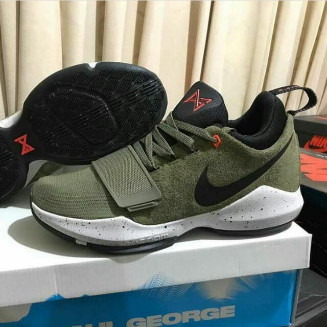 6a0c6cb9d5 Sepatu Basket Nike PG 1 Olive Green, Olshop Fashion, Olshop Pria on  Carousell