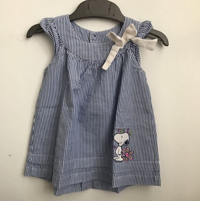 Snoopy Striped Blouse