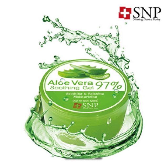 SNP ALOE VERA 97% SOOTHING GEL