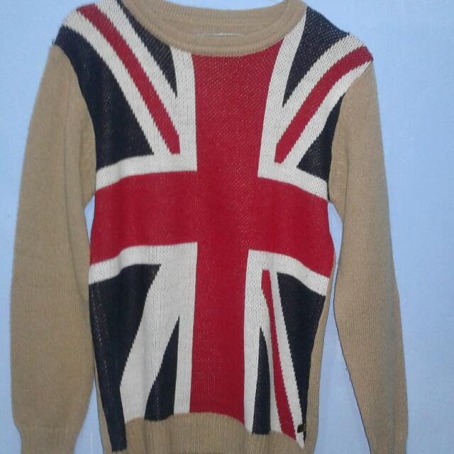Sweater Rajut England