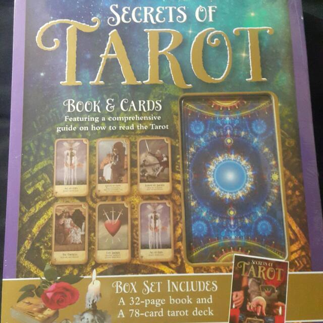 Tarot Card with Book Set