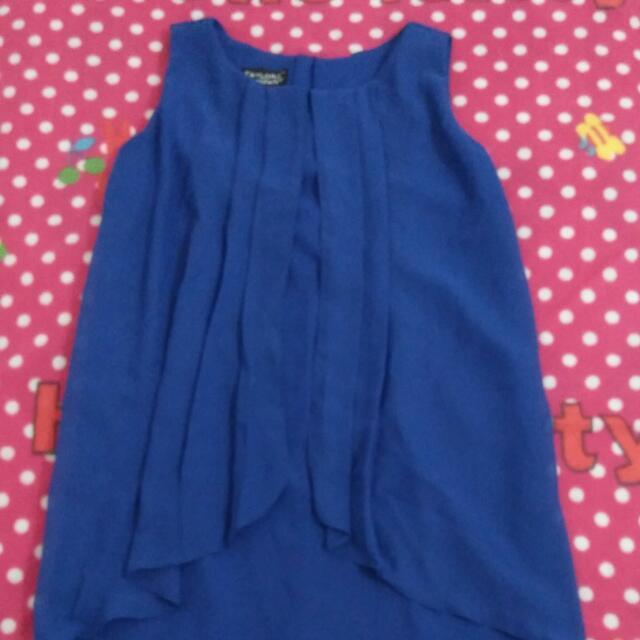 Taylor And Company Royal Blue Dress