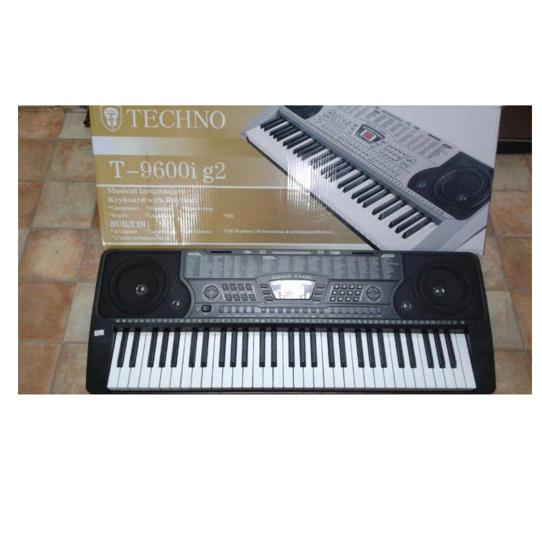 Keyboard Piano Techno T 8300i Update Daftar Harga Terbaru Indonesia Alat Musik 9100 Hitam 61 Key Standard T9600ig2 Music Media Instruments On