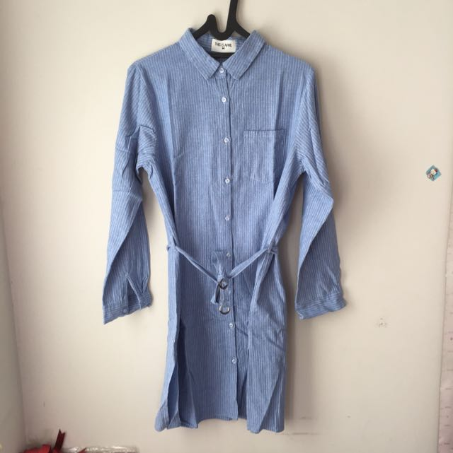 This Is April Shirt Dress