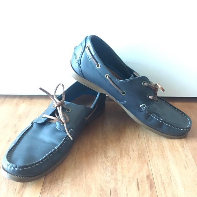 TOMMY HILFIGER Original Leather Boatshoes