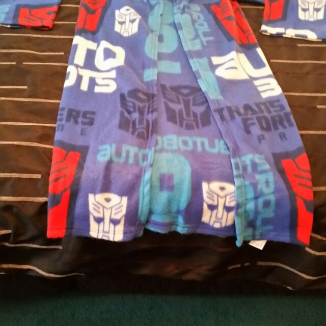 Transformers Dressing Gown Blanket