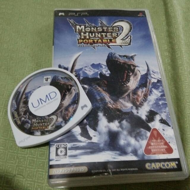 Umd Monster Hunter Portable 2