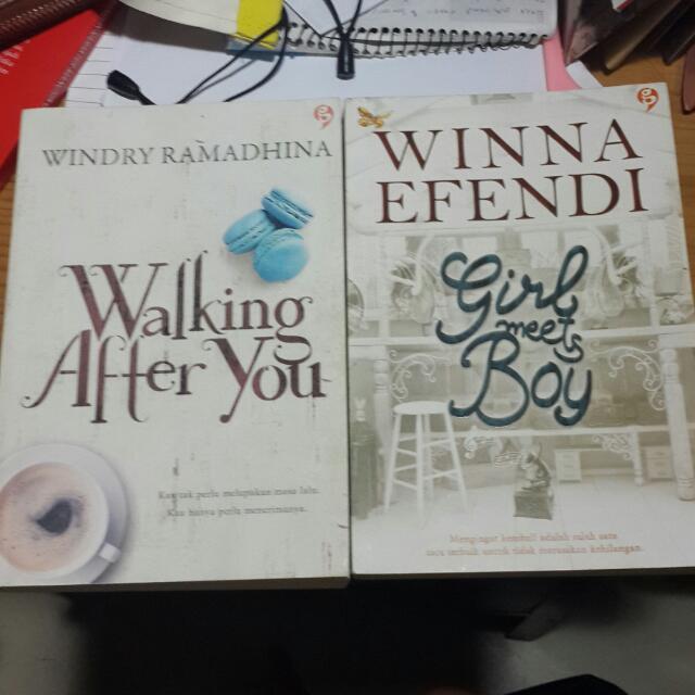 walking after you & girl meets boy novel