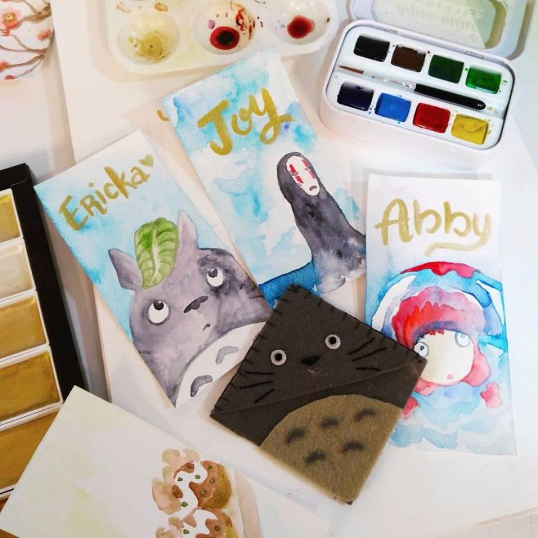 Watercolor Workshop with Denden