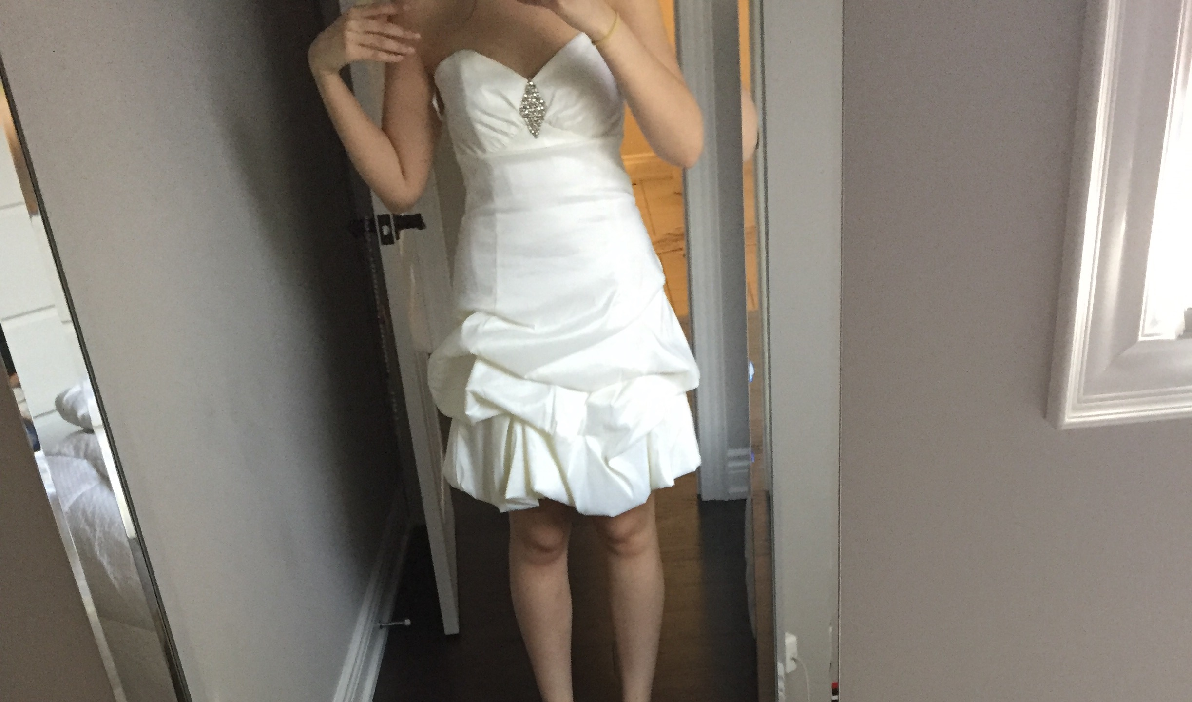 White Event Dress