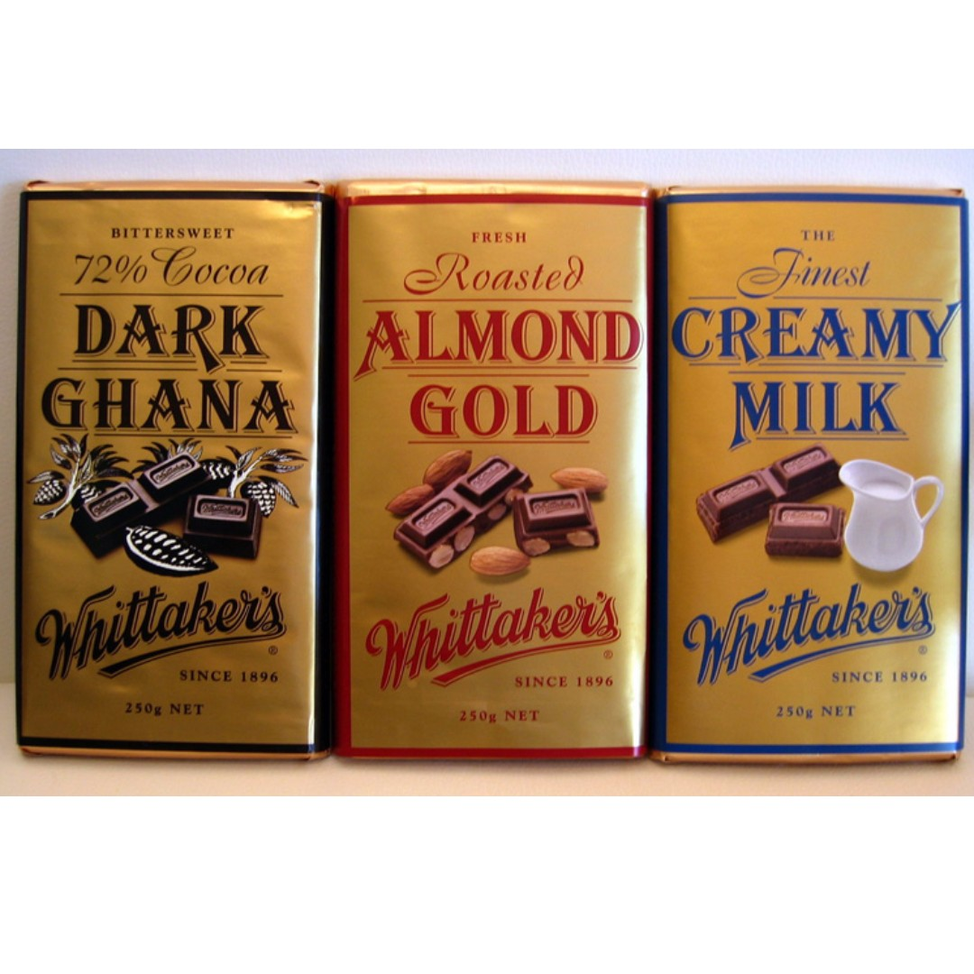 Whittaker's Chocolate (Any Variety) 350 grams