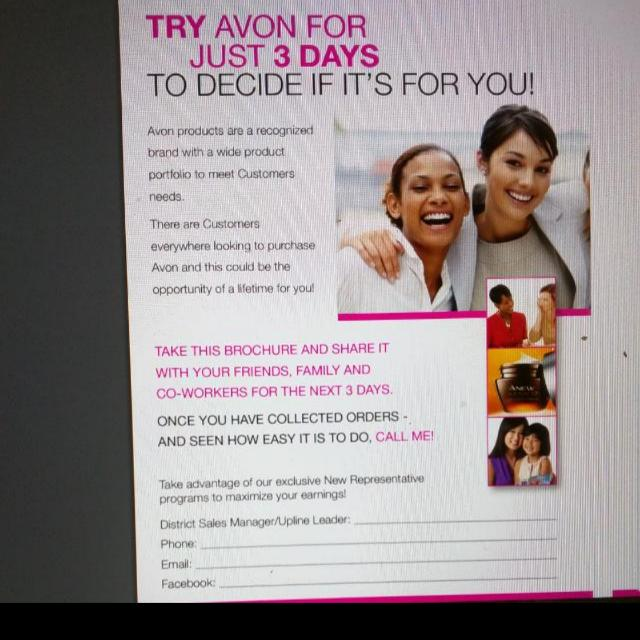 Work In Flexible Hours http://pages.avon.ca/ebrochure-list