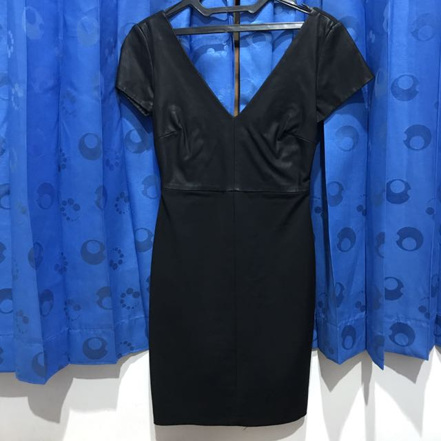 Zara Mini Black Dress