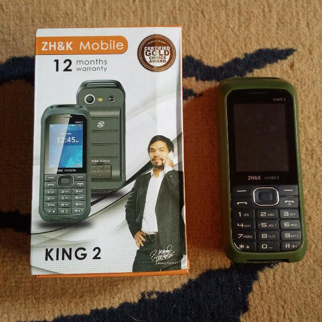 ZH&K KING 2 MOBILE PHONE/POWER BANK (LCD Defect)