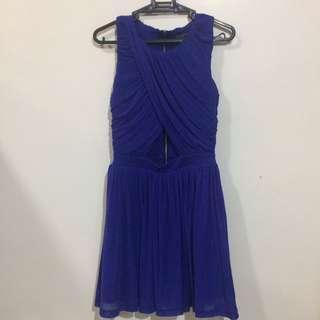 Topshop Petite Blue Dress