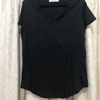 Ladies Bronze Snake Ache Oversize Basic Tee T-shirt Black 8