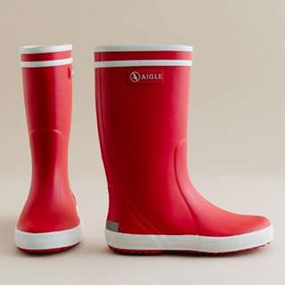 AIGLE Wellington Boots / 雨鞋/雨靴/紅