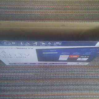 Roku 24inch With Builtin Media Player