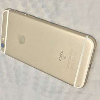 iPhone6s Gold