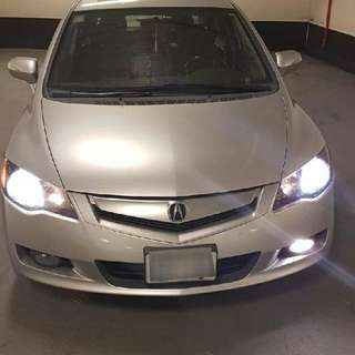 2009 Acura CSX Fully Loaded With Navigation System