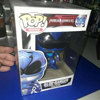Pop Funko Blue Ranger from Power Ranger 2017