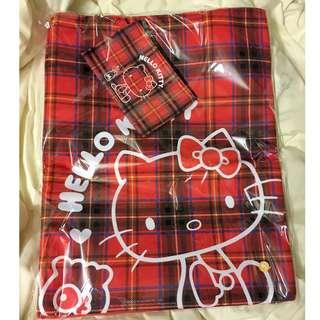 U Magazine X Hello Kitty 周年別注限定 Tote Bag 套裝