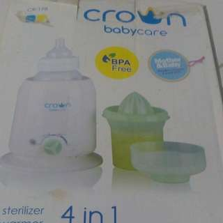 Crown 4 In 1 Baby Machine