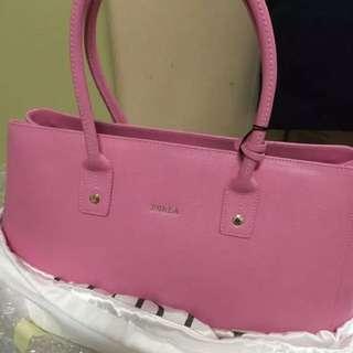 Flora bag new pink unused