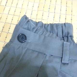 純色西裝滑布雙口袋抓皺俏皮燈籠褲 #轉轉來交換 #我的旋轉衣櫃#二百元短褲