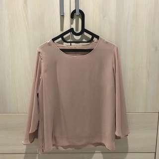 Cream Shirt IMPORT BKK