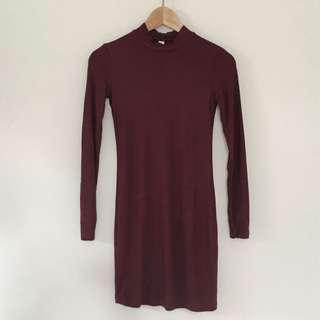Super Soft Bodycon Dress / Size S / Brand: American Apparel